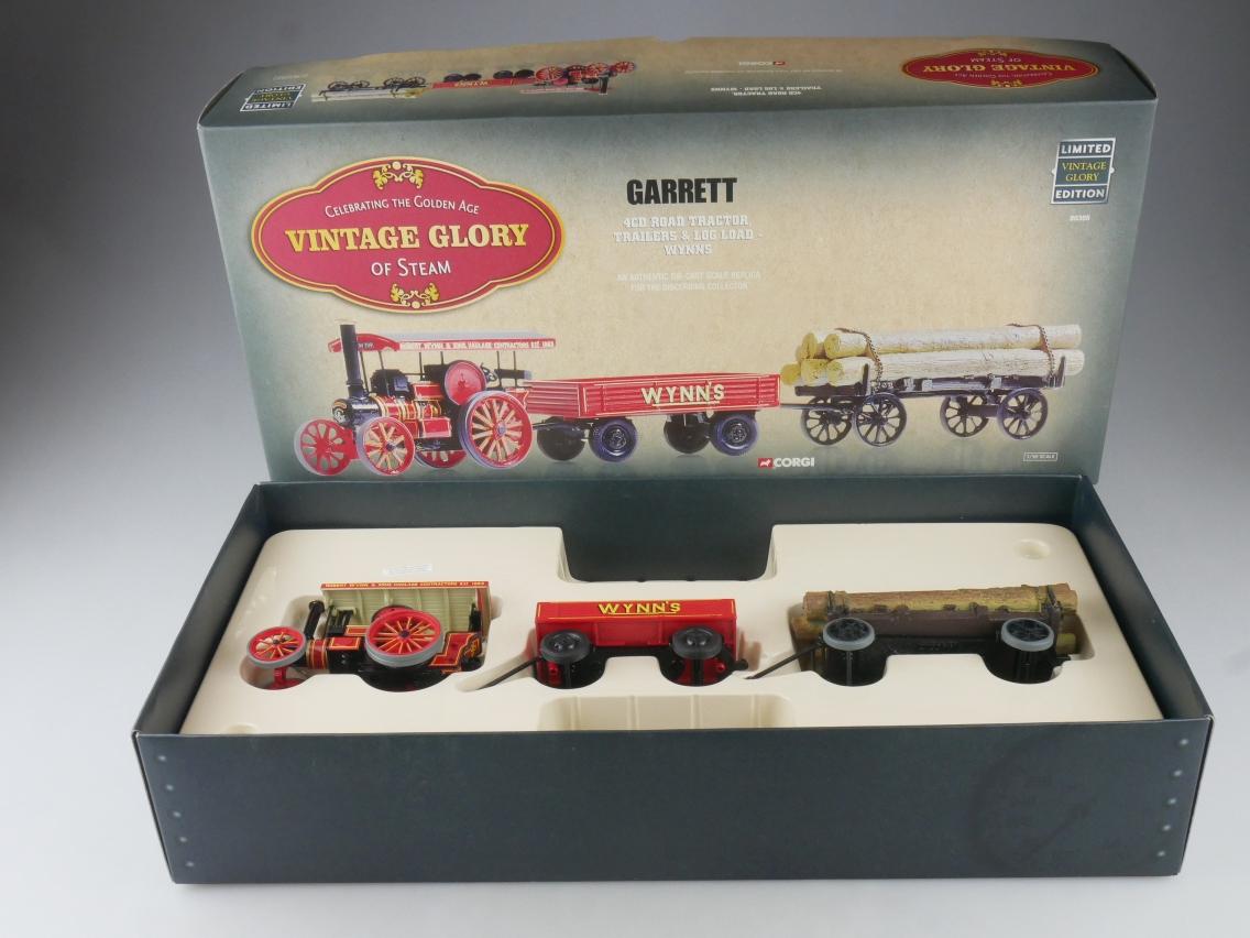 Corgi 80305 Garrett 4CD Tractor & Trailer Vintage Glory of Steam 1/50 Box 516082