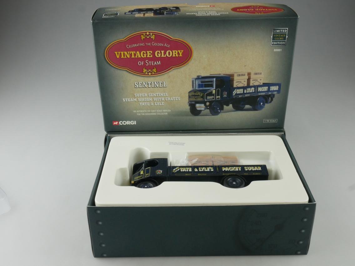 Corgi 80001 Sentinel Truck Tate & Lyle Vintage Glory of Steam 1/50 + Box 516090