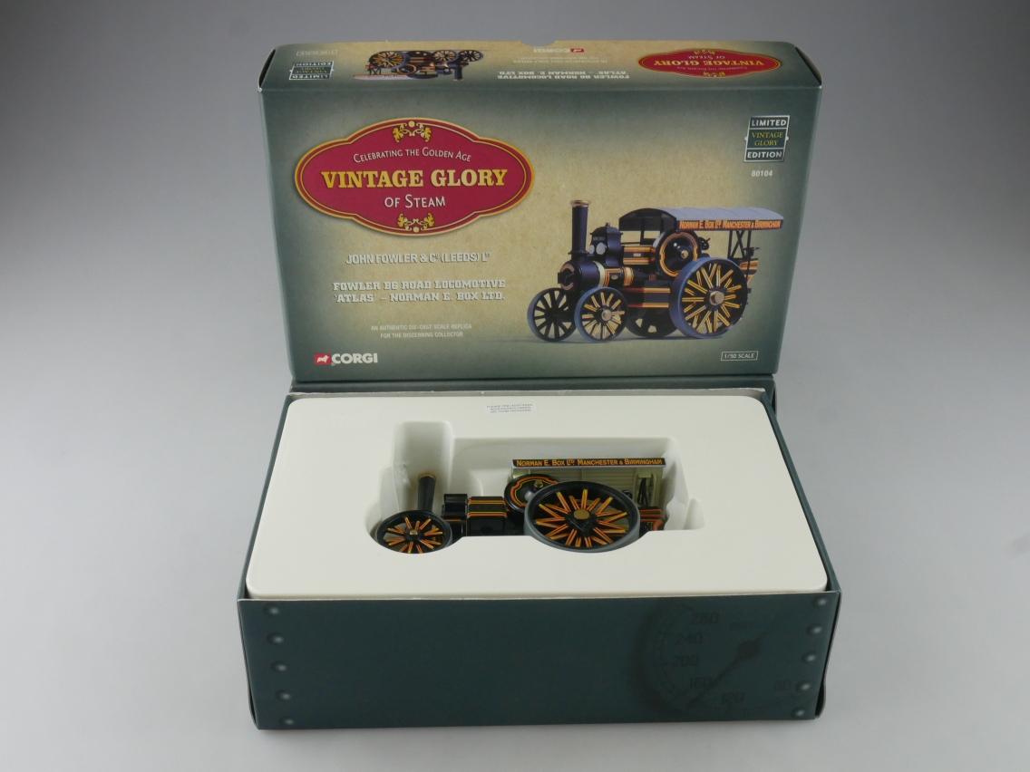 "Corgi 80104 Fowler B6 Locomotive ""Atlas"" Vintage Glory of Steam 1/50 +Box 516098"