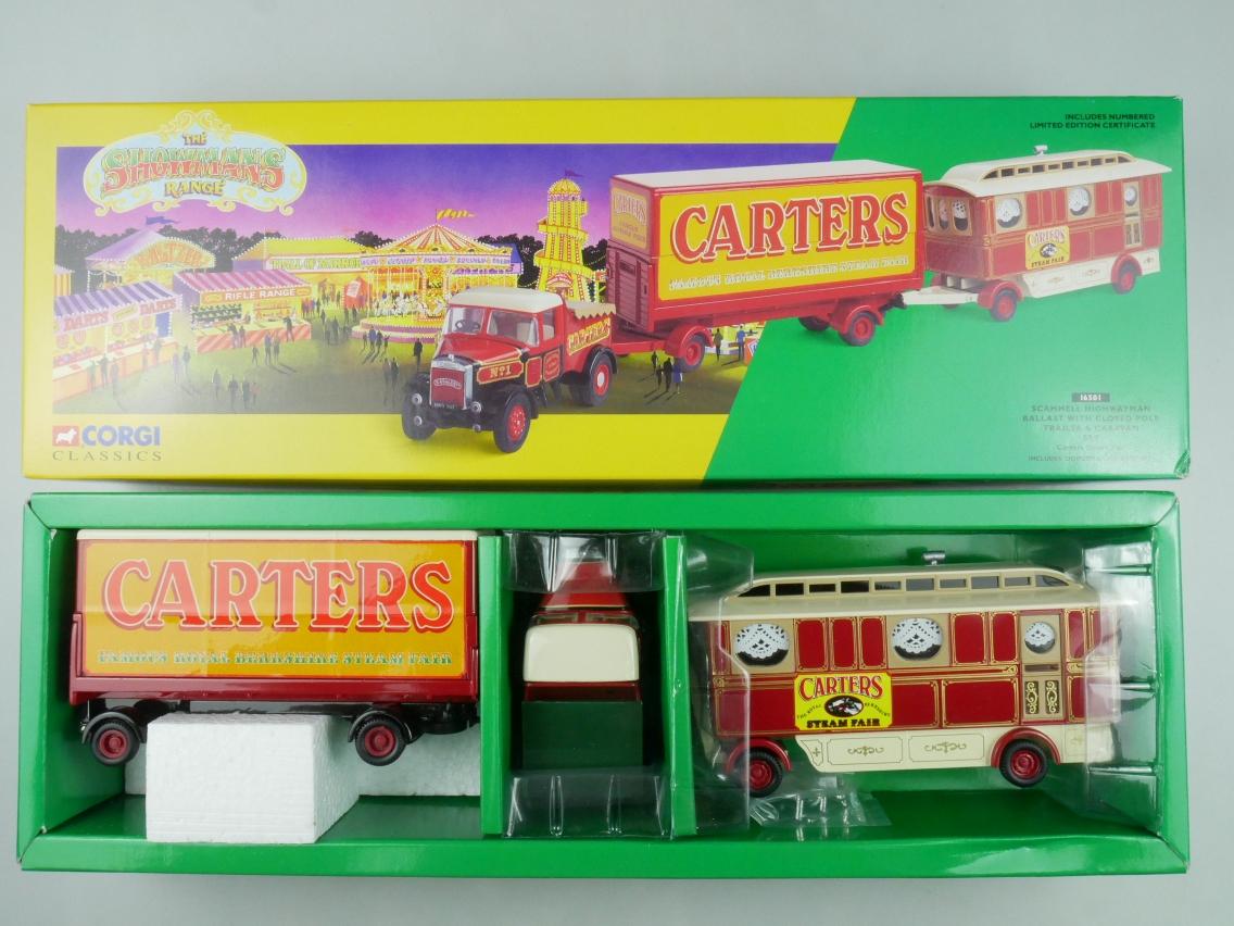 Corgi Classics 16501 Scammell Ballast Trailer & Caravan Circus 1/50 + Box 516137