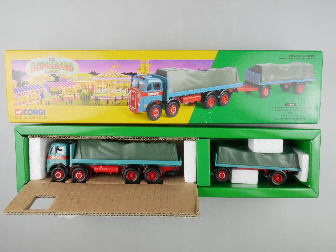 Corgi Classics 27602 Atkinson 8 Wheel Rigid Truck Trailer Circus 1/50 Box 516140