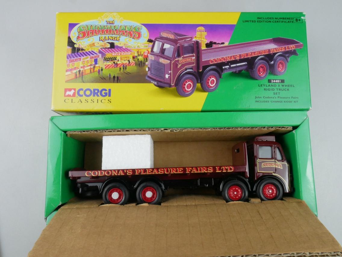 Corgi Classics 24401 Leyland 8 Wheel Rigid Truck Set Circus 1/50 + Box 516143