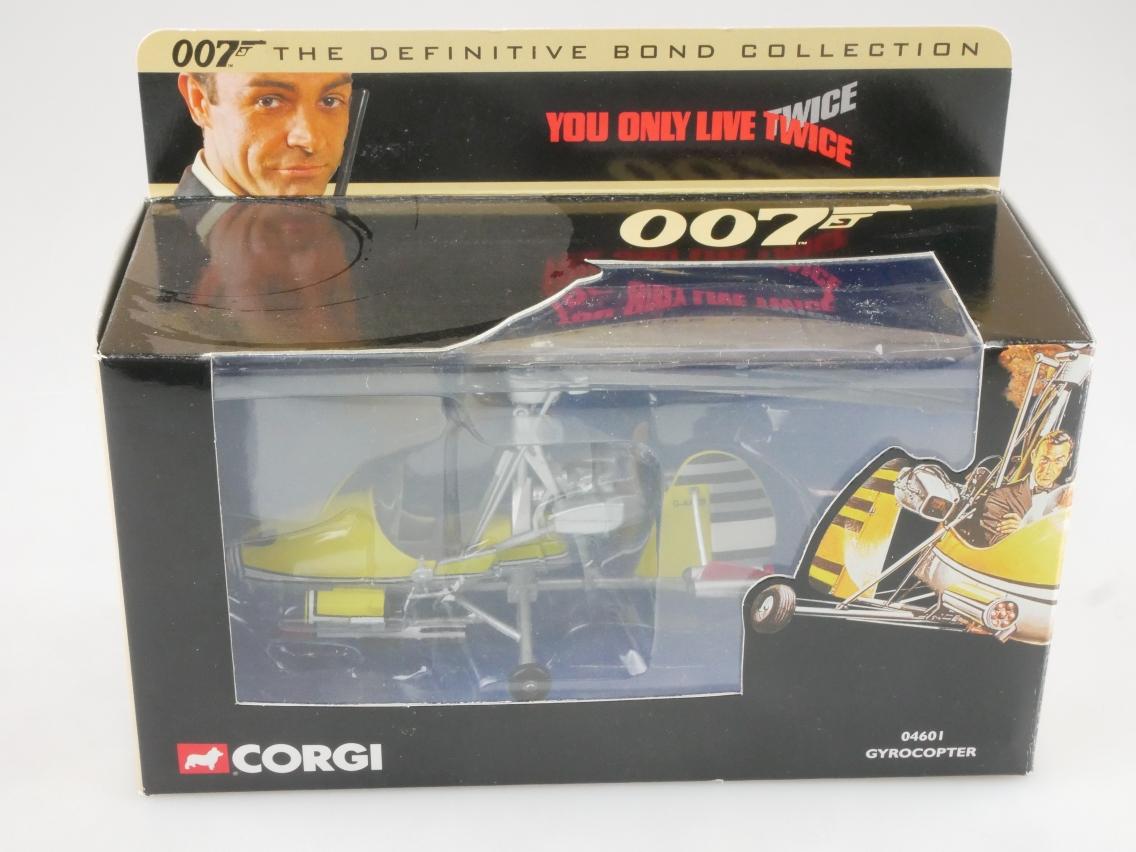 Corgi 04601 Gyrocopter James Bond 007 Collection You only live twice +Box 516159