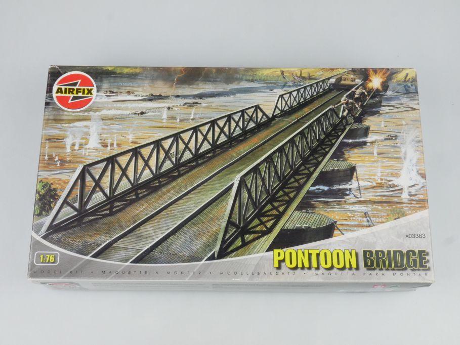 Airfix 03383 Ponton Bridge Brücke Militär Army Kit Bausatz 1/76 + Box 114772