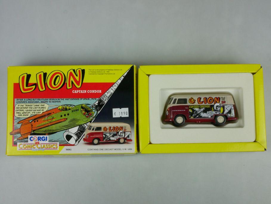 Corgi 96961 Comic Classics VW T1 Van Lion Captains Condor 1/43 + Box 516304