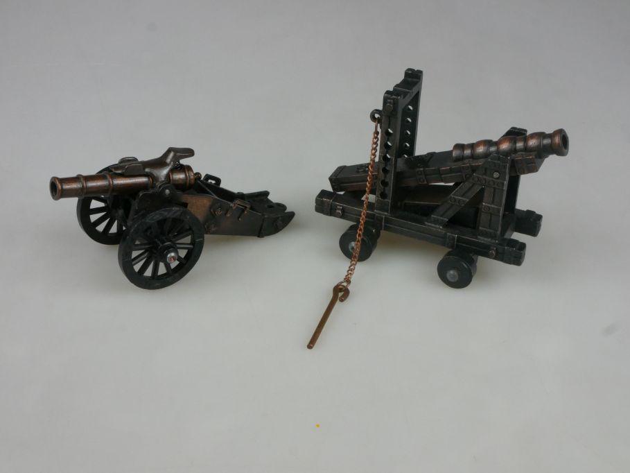 Playme Kanonen Geschütze passt zu 54mm Mittelalter Figuren Anspitzer 115414