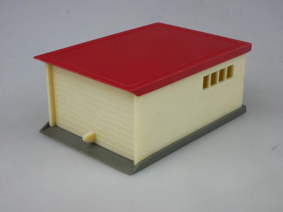 PKW Garage cremeweiß rot Saure 1288-4 1/87 Wiking H0 115820