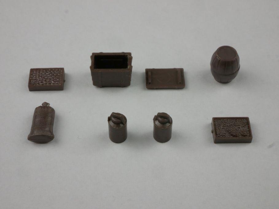 Einzelnes Ladegut 8 braun metallic typ 1 Saure 1350 1/87 Wiking H0 115843