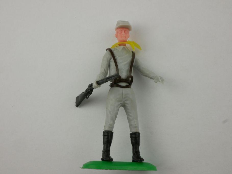Ü EI Steckfigur Stecker Stecki Südstaatl. Südstaaten Soldat Gewehr Gio.pi 116817