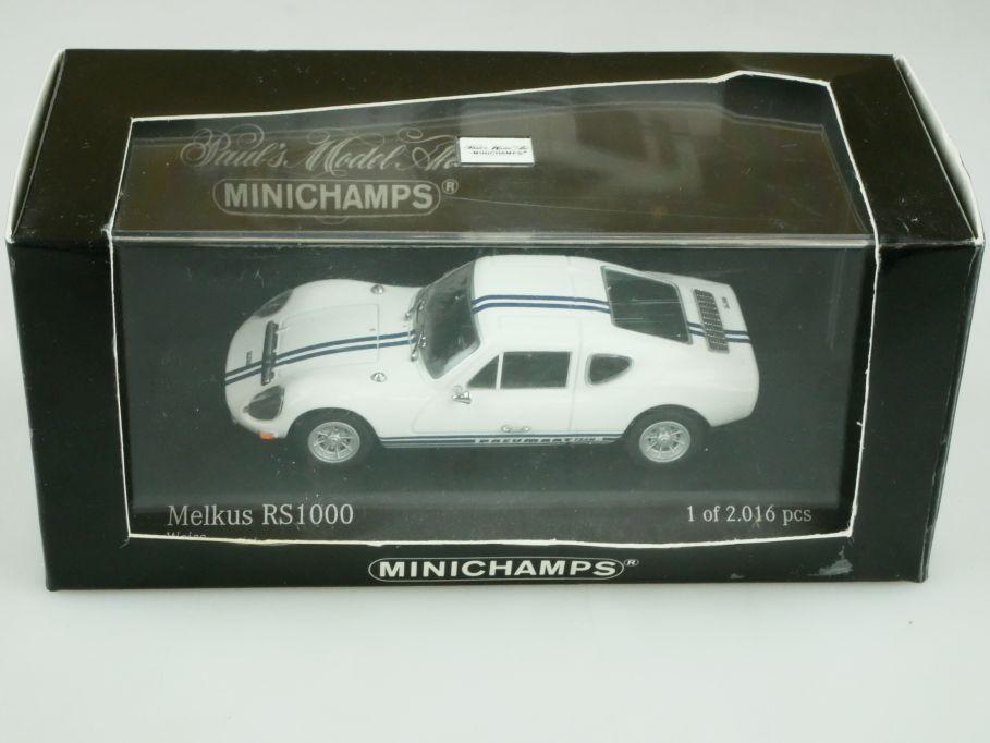 430010121 Minichamps 1/43 Melkus 1000 Wartburg DDR Rennflunder mit Box 512312