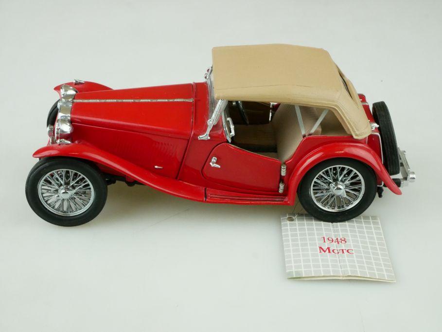Franklin Mint 1/24 Precision 1948 MG TC 1948 Roadster ohne Box 512314