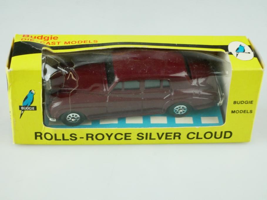 102 Budgie 1/43 Rolls Royce Silvercloud Limousine Seerol bordeaux m. Box 512332