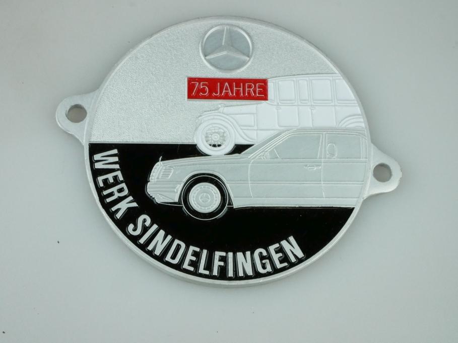 75 Jahre Werk Sindelfingen Mercedes Benz Medailie W 126 ohne Box 512350