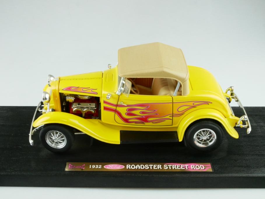 Road Legends 1/18 1932er Ford Hot Rod Custom Roadster ohne Box 512373