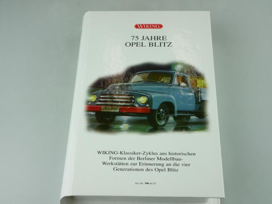 9904455 Wiking 1/87 Opel Blitz 75 Jahre Jubiläumsedition mit Box 512402