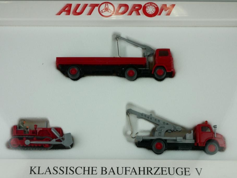 99019 Wiking 1/87 Mercedes Benz Klassische Baufahrzeuge V Autodrom Box 512404
