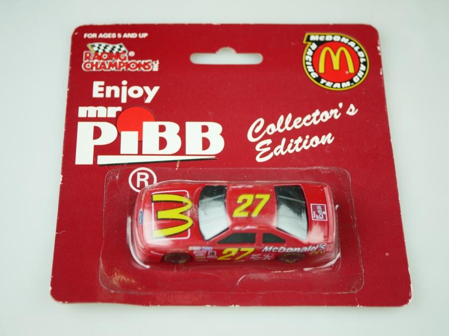 Racing Champions 1/64 Mc Donald Land Team Ford Thunderbird Mr. Pibb Box 512441