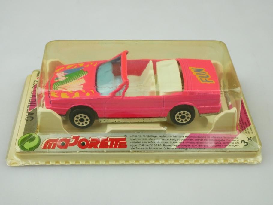 253 Majorette 1/59 Cadillac Allante Convertible Sun Fun pink mit Box 512465