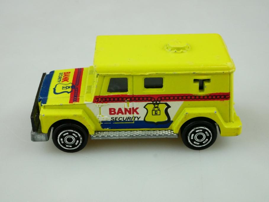 204 Majorette 1/57 Bank Security Geldtransporter ohne Box 512469