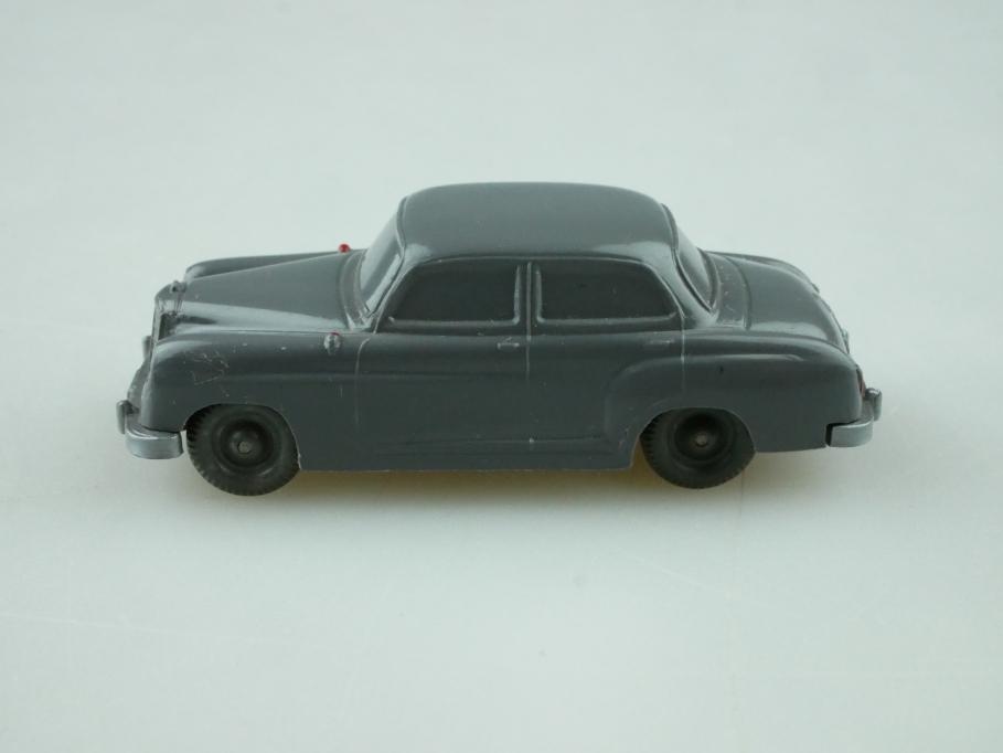 Saure 124 Wiking 1/87 Mercedes Benz 180 Ponton basaltgrau unverglast  512482