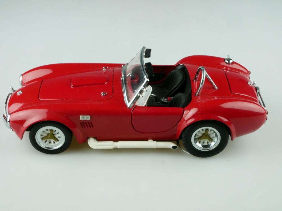 Kyosho 1/18 AC Cobra Shelby 427 Roadster red ohne Box 512514