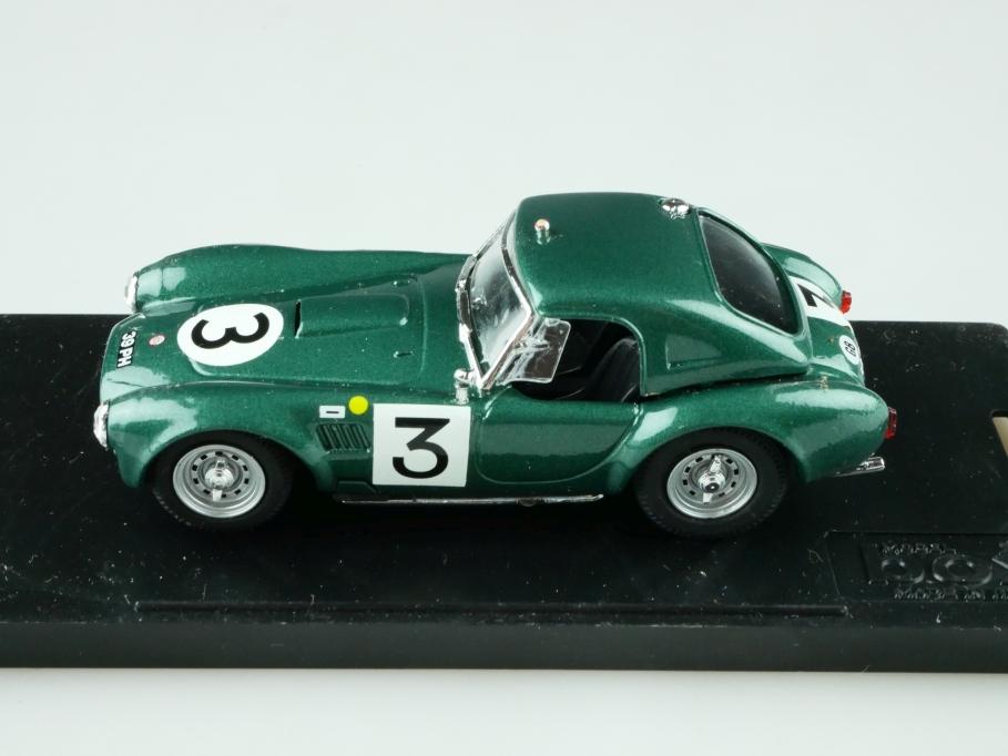 Model Box 1/43 AC Shelby Cobra Coupe Race racinggreenmet. mit Box 512521