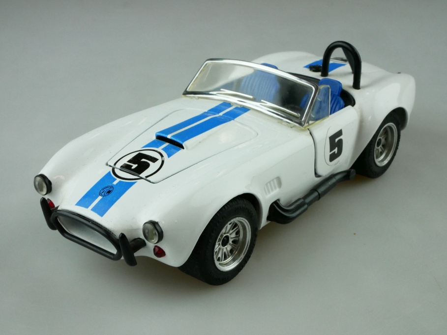 Majorette 1/24 AC Shelby Cobra 427 SC Roadster Racing ohne Box 512525