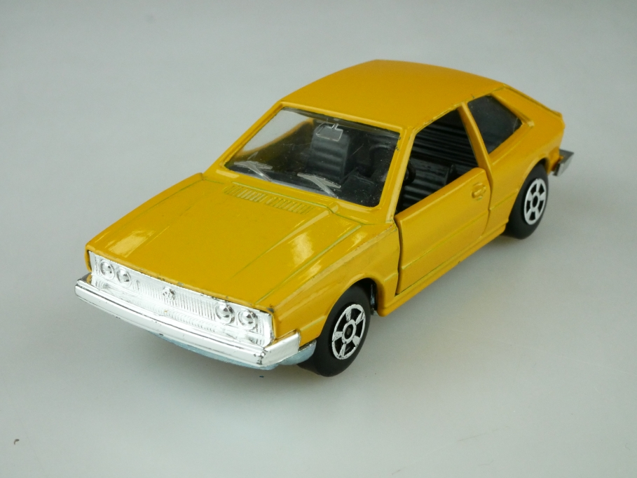 EL 54 Polistil 1/43 VW Scirocco Coupe 3-76 ockergelb ohne Box 512537