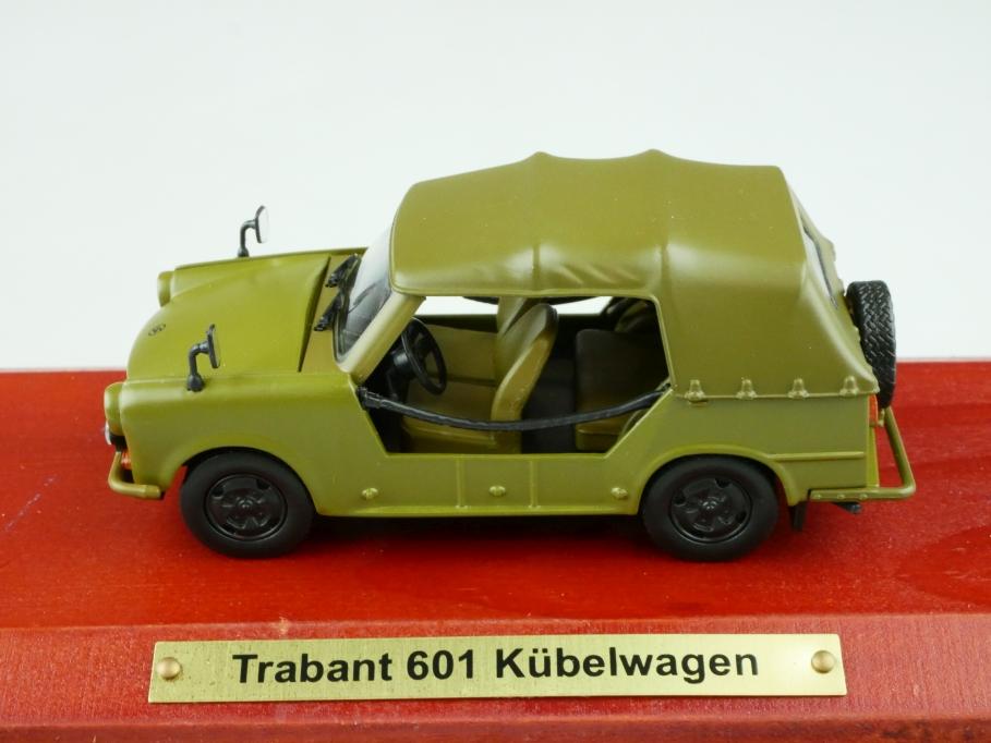 Atlas 1/43 DDR Collection Trabant 601 Kübelwagen Militär Jeep mit Box 512543