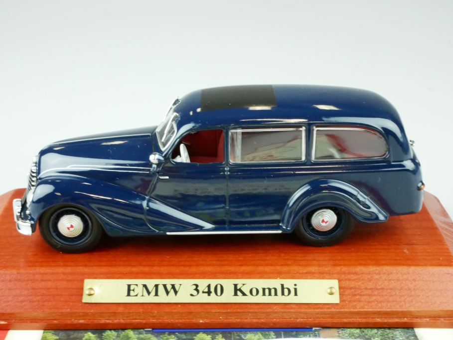 Atlas 1/43 DDR Collection EMW 340 Kombi 1951 ex BMW mit Box 512546