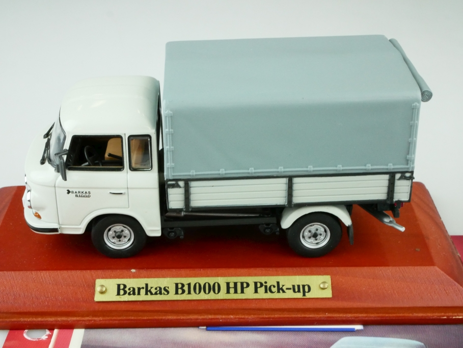 Atlas 1/43 DDR Collection Barkas B 1000 HP Pickup IFA Pritsche mit Box 512547