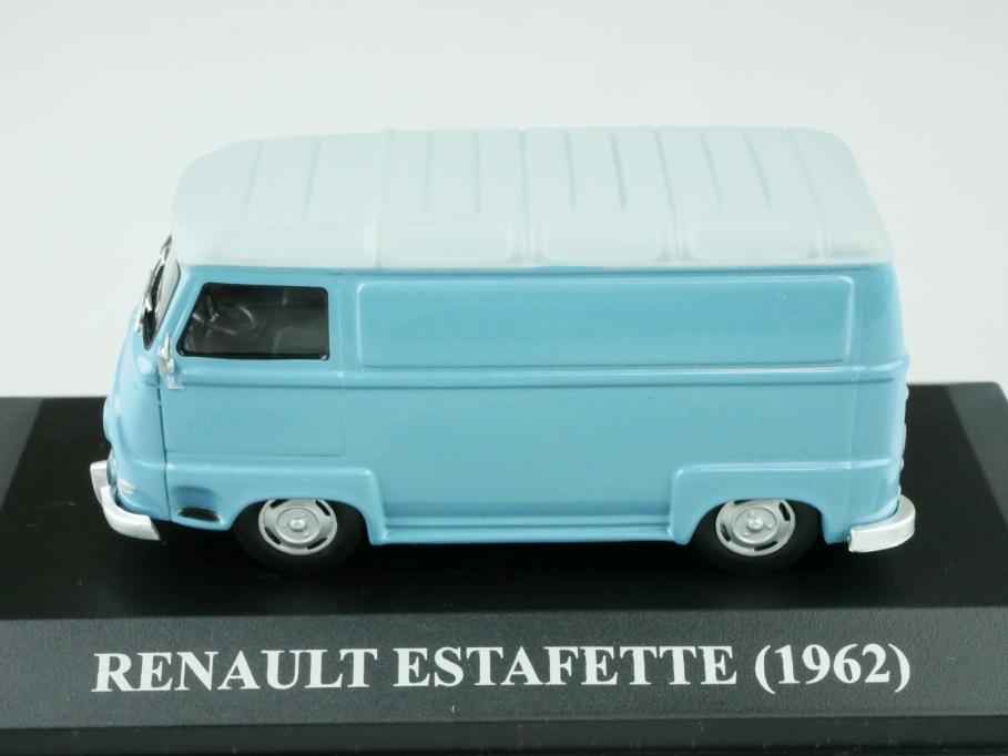 Ixo 1/43 Renault Estafette 1962 Lieferwagen mattgraublau mit Box 512548