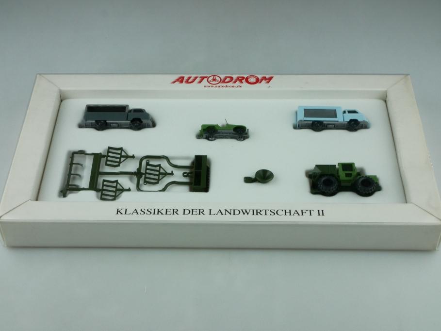 9905150 Wiking 1/87 Klassiker der Landwirtschaft mit Mercedes Benz Trac  512551