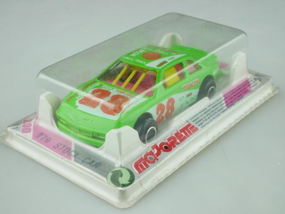 279 Majorette 1/60 Ford Thunderbird Stock car Nascar selten mit Box 512563