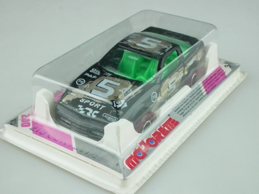 215 Majorette 1/60 Chevrolet Corvette Stock car Nascar selten mit Box 512565