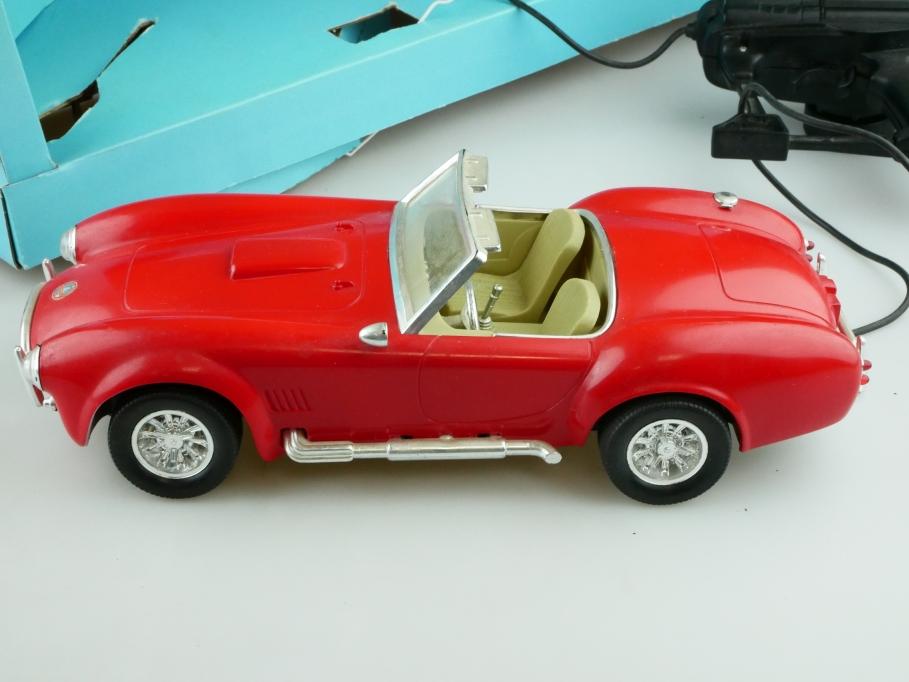 2170 Lucky Zap Toys 1/16 AC Cobra Roadster Kabelfernsteuerung rot mit Box 512577