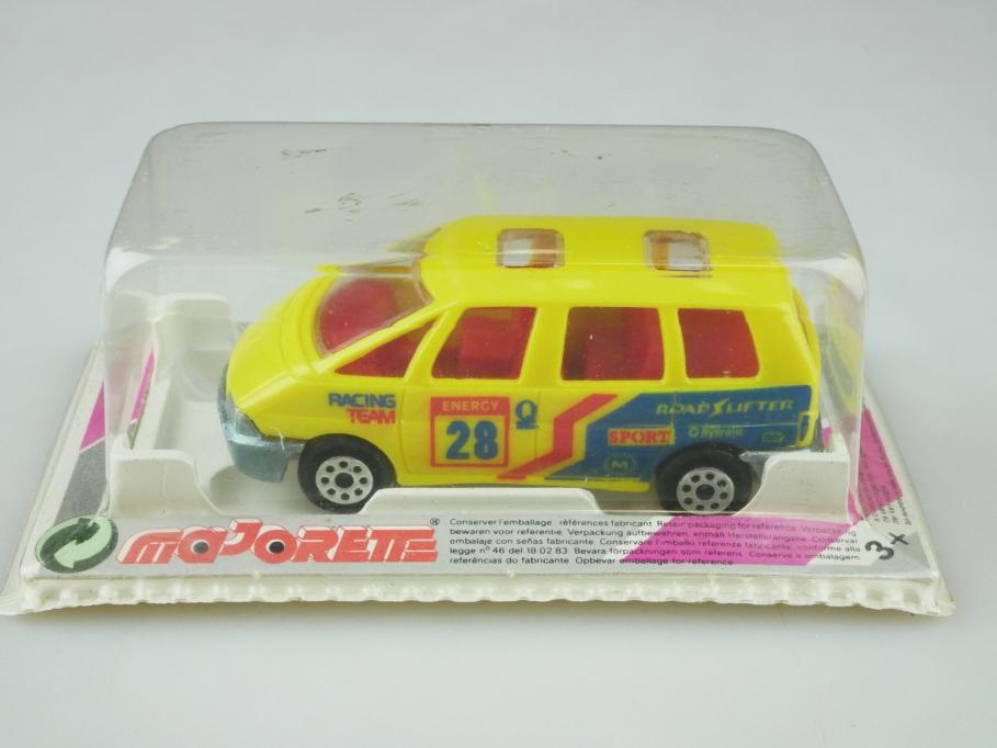 110 Majorette 1/61 Renault Espace Racing Team Van mit Box 512578