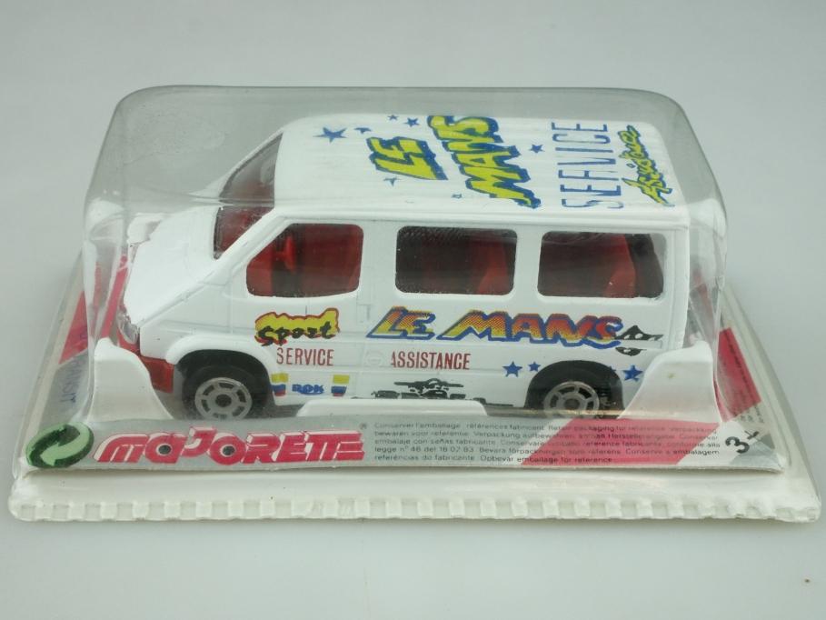 243 Majorette 1/60 Ford Transit Van Le Mans Service Assistance mit Box 512582