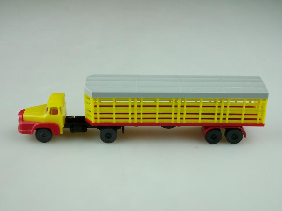 1067 Espewe 1/87 Unic Sattelzug mit Viehtransporter Auflieger ohne Box 512591