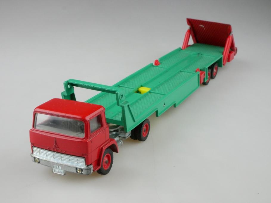 V 289 Siku 1/55 Magirus Deutz 100 D7 Baufahrzeug-Transporter ohne Box 512622