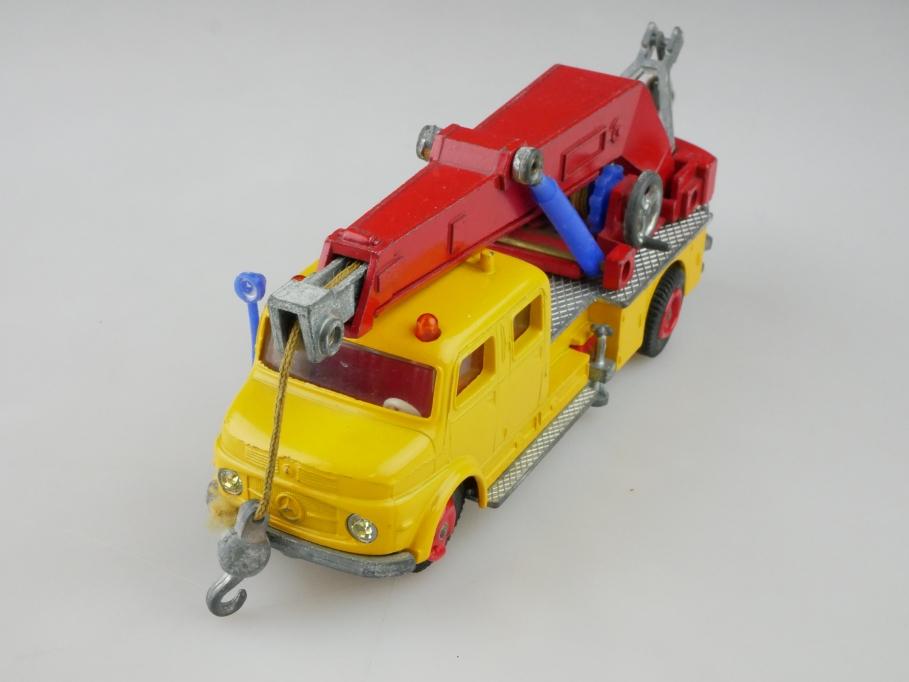 V 293 Siku 1/55 Mercedes Benz Rundhauber Kranwagen ohne Box 512623