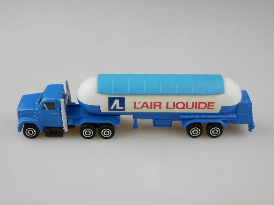 324 Majorette 1/100 Ford Truck mit Air Liquide Tanksattelauflieger   512624