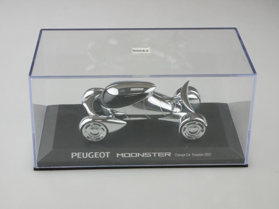 Norev 1/43 Peugeot Moonster Concept Car Francfort 2001 mit Box 512630