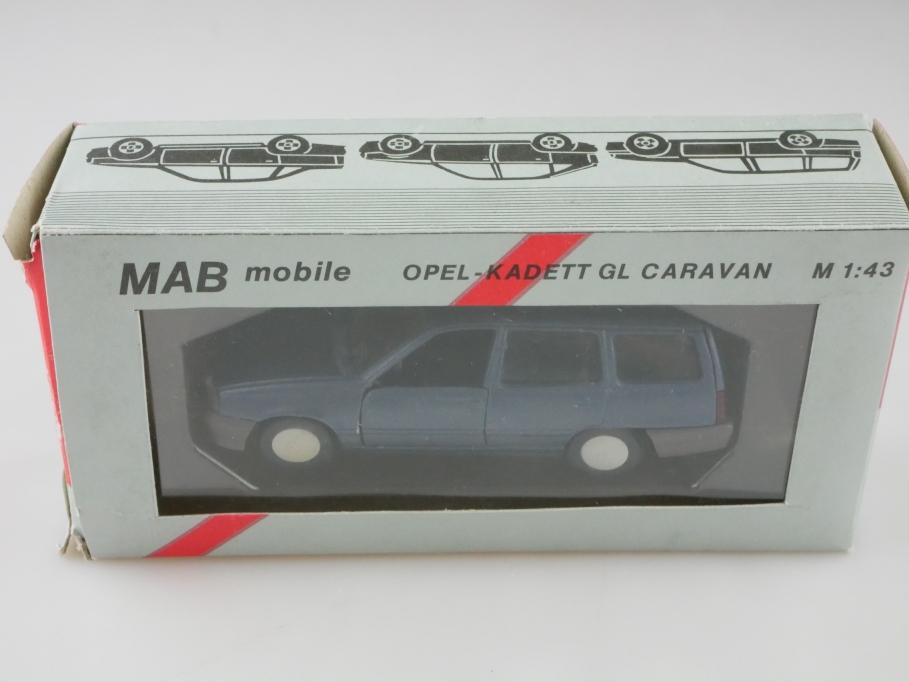1199 MAB 1/43 Opel Kadett E GL Caravan mattblaumetallic mit Box 512641