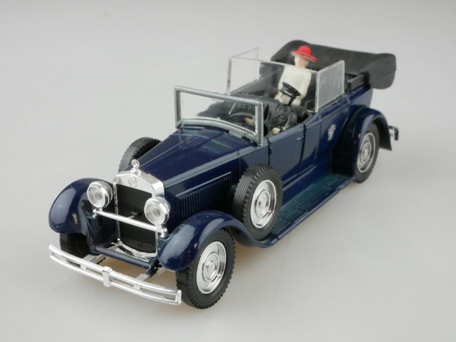 4154 Solido 1/43 Fiat 525 N Landaulet 1929 Papamobil Pius XI ohne Box 512645