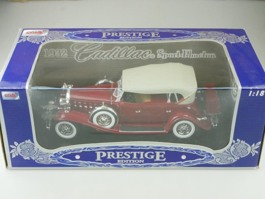 Anson 1/18 Cadillac Sport Phaeton Convertible 1932 mit Box 512656