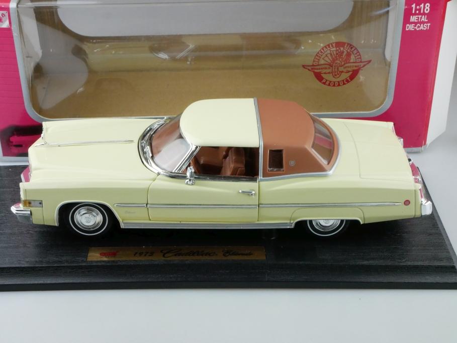 Anson 1/18 Cadillac Eldorado Coupe 1973 mit Box 512655