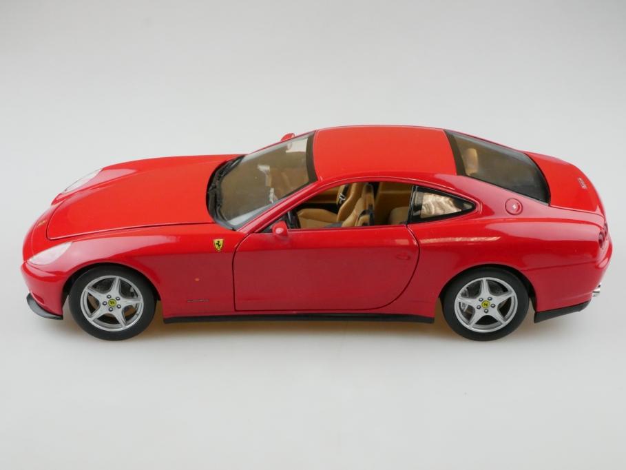 Hot Wheels 1/18 Ferrari 612 Scaglietti Coupe 2004 ohne Box 512723