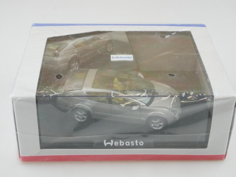 880001 Norev 1/43 Werbemodell Webasto Conceptcar mit Box 512729