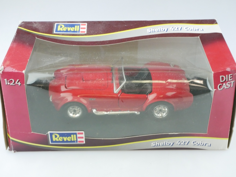 Revell 1/24 AC Ace Shelby Cobra 427 Roadster red mit Box 512841